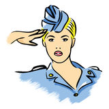 Stewardess Stock Photos