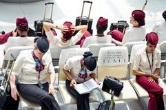 Stewardess Stockbild