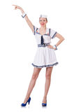 Stewardess Royalty-vrije Stock Afbeeldingen