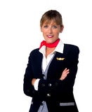 Stewardess Royalty Free Stock Photography