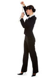 Stewardess uniform Stock Images