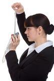 Stewardess uniform Stock Photography