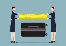 stewardessen Stock Afbeelding