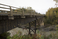Stewart Cassiar Highway Bridge British Columbia Canada Royalty Free Stock Photos