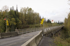Stewart Cassiar Highway Bridge British Columbia Canada Royalty Free Stock Images