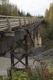 Stewart Cassiar Highway Bridge British Columbia Canada Royalty Free Stock Photo