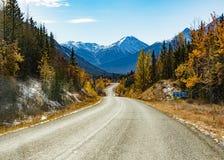 Stewart Cassiar Highway 37 de la chute AVANT JÉSUS CHRIST Canada photo stock