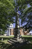 Stewart County Confederate minnesmärke arkivbilder