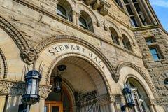 Stewart Hall в университете Западной Вирджинии стоковые фотографии rf