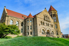 Stewart Hall at West Virginia University. The iconic Stewart Hall on the campus of West Virginia University, known as WVU, in Morgantown, West Virginia stock photography