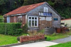 Stewart Island, Neuseeland: Die alte Insel-Handelsstation Lizenzfreies Stockfoto