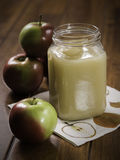 Stewed Apple Royalty Free Stock Photography