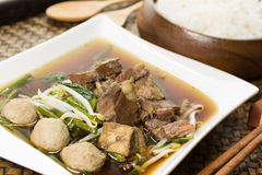 Stewed beef soup Royalty Free Stock Images