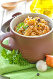 Stewed cabbage Royalty Free Stock Photos