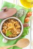 Stewed cabbage Stock Photos