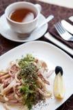 Stewed calamar Royalty Free Stock Image