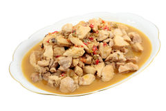 Stewed chicken Royalty Free Stock Photography