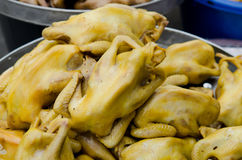 Stewed chicken Royalty Free Stock Photo