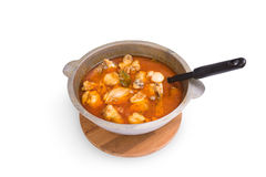Stewed chicken Stock Images