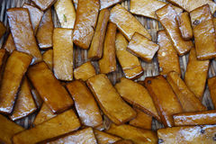 Stewed dried bean curd Royalty Free Stock Photos