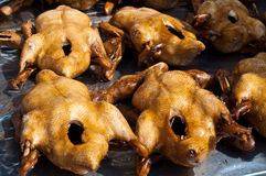 Stewed duck for sale. In the market, Chainese New year in Thailand Stock Images