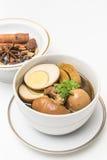 Stewed eggs  Kai Pa Lo Stock Photo