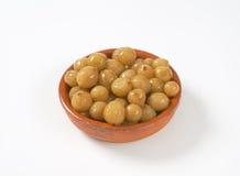 Stewed gooseberries Royalty Free Stock Image