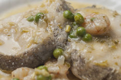Stewed hake series 02 Stock Photography