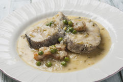 Stewed hake series 06 Royalty Free Stock Photography
