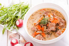 Stewed meat Stock Images