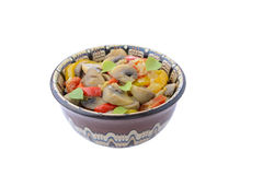 Stewed mushrooms and vegetables Stock Photos