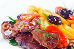 Stewed mutton Royalty Free Stock Image