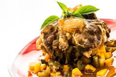 Stewed oxtail Stock Images