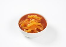 Stewed peppers Stock Photography