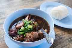 Stewed pork leg, delicious food, Thai Food Royalty Free Stock Images