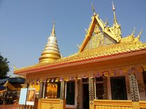 Thailand Temple - Wat Phra That Jom-Sak Stock Images