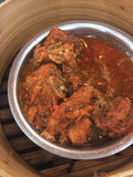 The stewed pork with red sauce Royalty Free Stock Photo