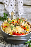 Stewed rabbit. Stock Images