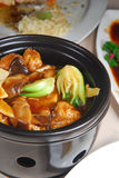Stewed Tofu vegetable Stock Image