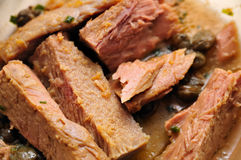 Stewed Tuna Fillets # 2 Royalty Free Stock Photo