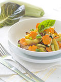 Stewed vegetable Stock Image