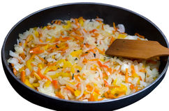 Stewed vegetables Royalty Free Stock Images