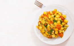 Stewed vegetables Royalty Free Stock Photos