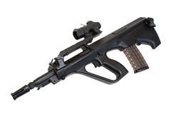 Steyer Aug assault rifle Stock Image