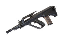 Steyer Aug assault rifle Stock Images