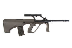 Steyer Aug assault rifle Stock Photo