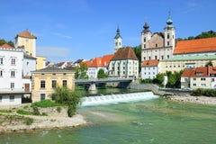 Steyr, Άνω Αυστρία στοκ εικόνα με δικαίωμα ελεύθερης χρήσης