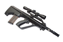 Steyr aug assault rifle Stock Images