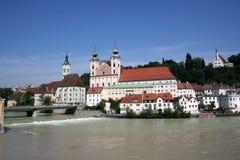 Steyr - l'Austria Fotografie Stock