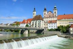 Steyr, Oberösterreich Lizenzfreies Stockbild